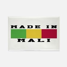 Mali Made In Rectangle Magnet
