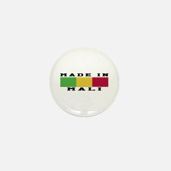 Mali Made In Mini Button