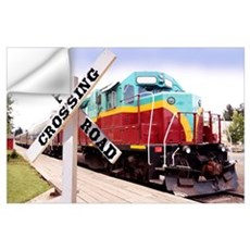 Mount Hood Railroad Wall Decal