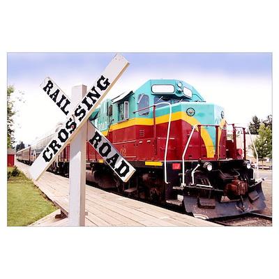 Mount Hood Railroad Poster