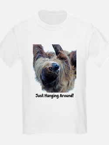 Just Hanging Around! Sloth T-Shirt