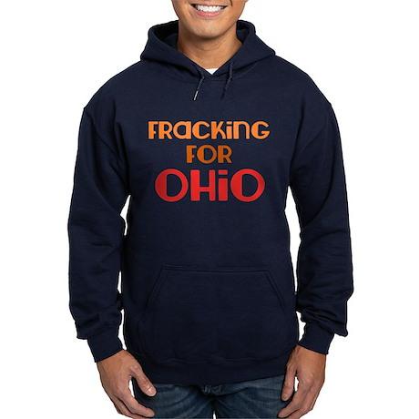 Utica Shale Pro-Drilling Hoodie (dark)