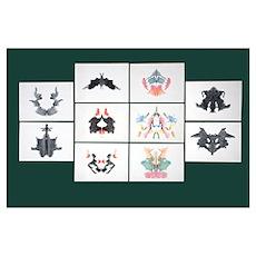 Rorschach Inkblot Test Poster