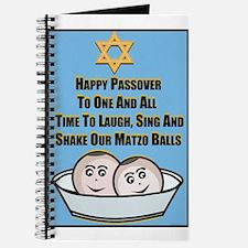 Happy Passover Matzo Journal