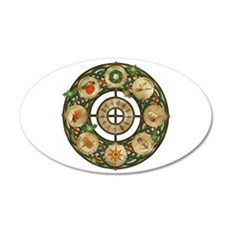 Celtic Wheel of the Year Wall Decal