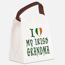 I Love My Irish Grandma Canvas Lunch Bag