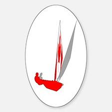 Canadian Sailing Decal