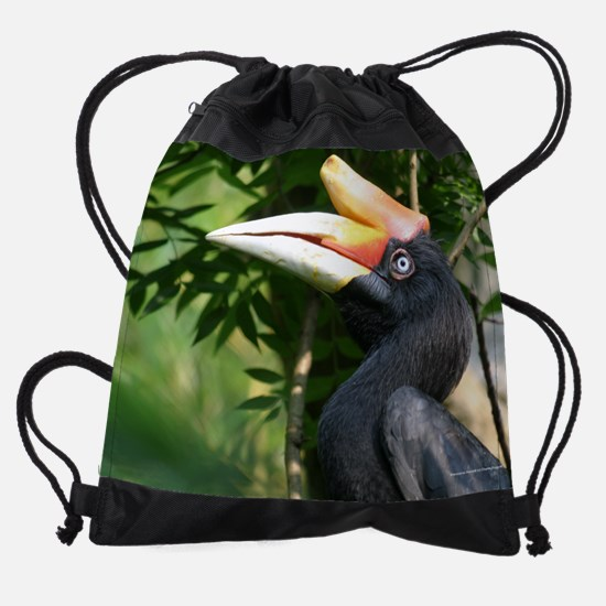 03MarchZoo.png Drawstring Bag