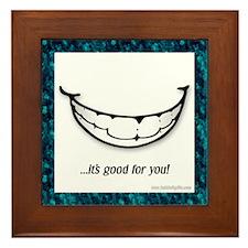 The Smile... Framed Tile