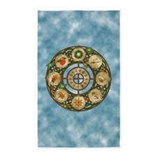 Celtic Wheel of the Year 3'x5' Area Rug