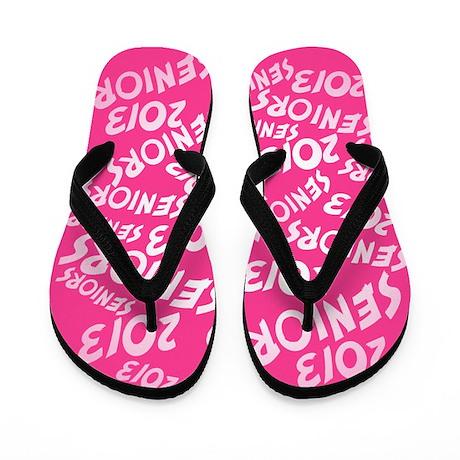 PINK Senior Class OF 2013 Flip Flops