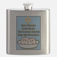 Happy Passover Matzo Flask