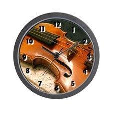 Violin Concerto Wall Clock