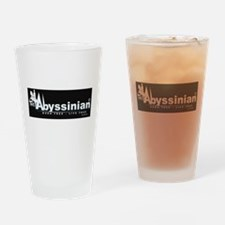 Abyssinian Drinking Glass