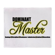 Dominant Master Throw Blanket