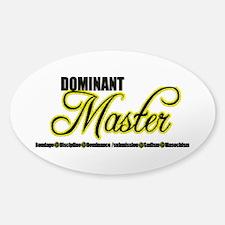 Dominant Master Sticker (Oval)