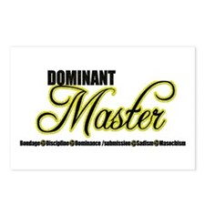 Dominant Master Postcards (Package of 8)