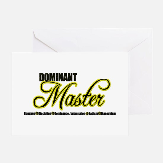 Dominant Master Greeting Card