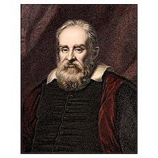 1636 Galileo Galilei portrait astronomer Poster
