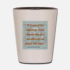 It Is One Of The Blessings - RW Emerson Shot Glass