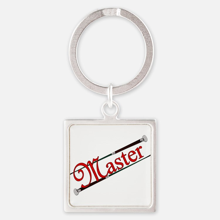 MASTER - Riding Crops Square Keychain