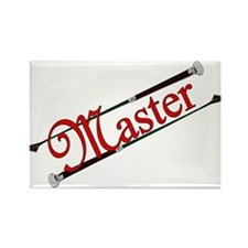 MASTER - Riding Crops Rectangle Magnet