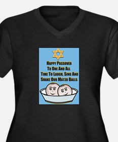Happy Passover Matzo Plus Size T-Shirt