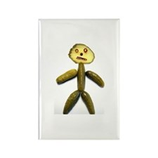 Pickle Man Rectangle Magnet (100 pack)