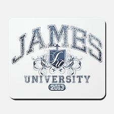 James last name University Class of 2013 Mousepad