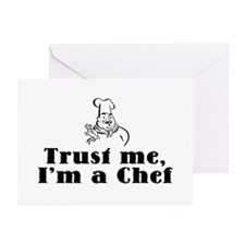 Trust Me I'm a Chef Greeting Cards (Pk of 10)