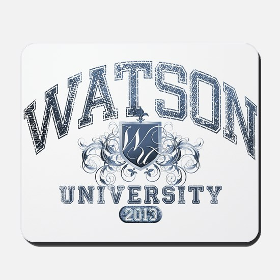 Watson last name University Class of 2013 Mousepad
