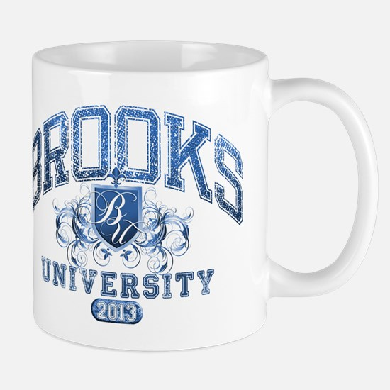 Brooks last name University Class of 2013 Mug