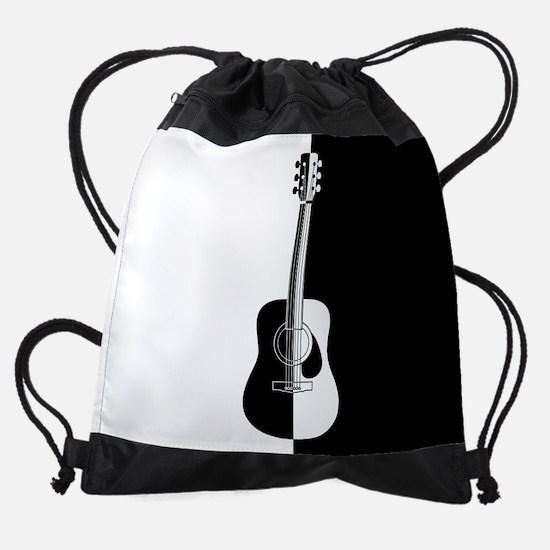 Cool Contemporary Guitar art Drawstring Bag