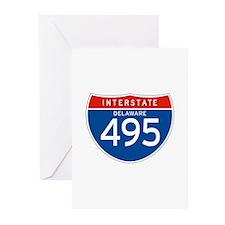 Interstate 495 - DE Greeting Cards (Pk of 10)