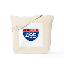 Interstate 495 - DE Tote Bag