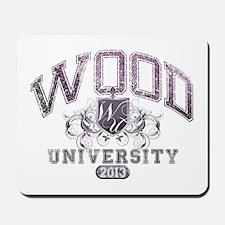 Wood last name University Class of 2013 Mousepad