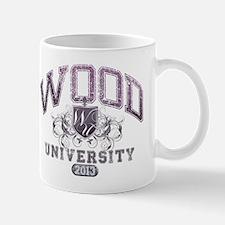 Wood last name University Class of 2013 Mug