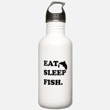 Eat Sleep Fish Water Bottle