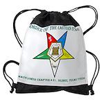 OES Mayflower chapt 81 TXCALENDAR - Drawstring Bag