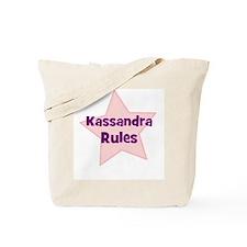 Kassandra Rules Tote Bag