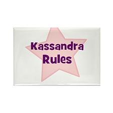 Kassandra Rules Rectangle Magnet