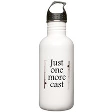 Just One More Cast Water Bottle