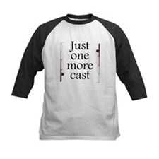 Just One More Cast Baseball Jersey