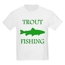 Green Trout Fishing T-Shirt