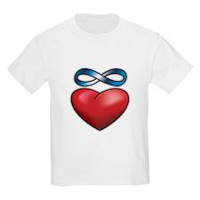 Cute Infinity heart tattoo T-Shirt
