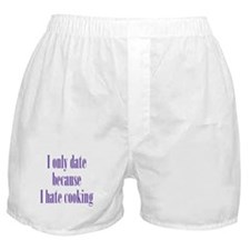 Cooking Date Boxer Shorts