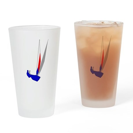 Czech Republic Sailing Drinking Glass