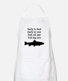Funny Fish All Day Poem Apron