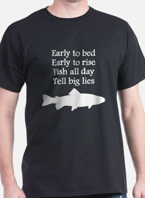 Funny fishing sayings t shirts shirts tees custom for Funny fishing t shirts
