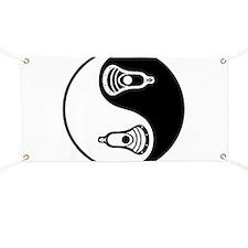 Lacrosse Ying Yang Banner